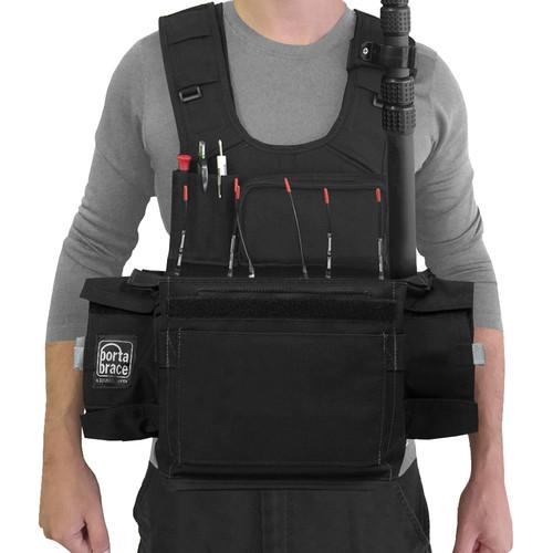 PortaBrace ATV-788 Audio Tactical Vest for Sound Devices 788 Portable Recorder