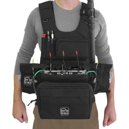 Porta Brace ATV-888 Audio Tactical Vest for Sound Devices 888 Recorder