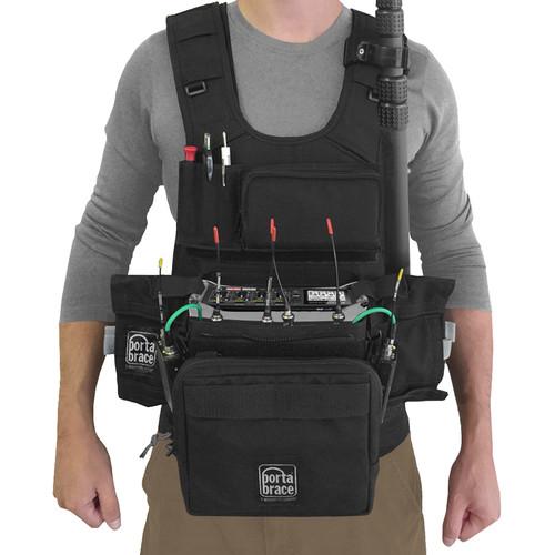 Porta Brace ATV-F4 Audio Tactical Vest for Zoom F4 Portable Recorder
