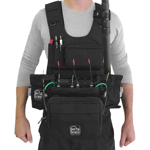 Porta Brace ATV-MAXX Audio Tactical Vest for Zaxcom Maxx Portable Recorder