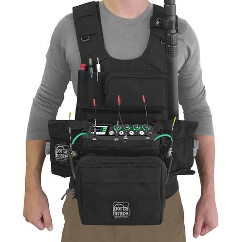 Porta Brace ATV-MIXPRE6 Audio Tactical Vest for Sound Devices MixPre-6 Portable Recorder