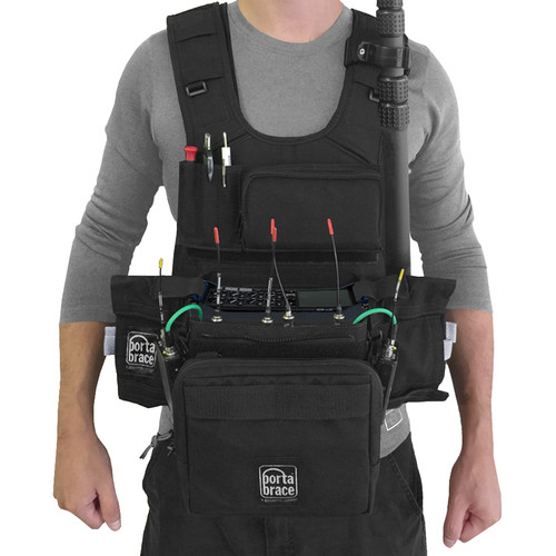 Porta Brace ATV-Z8 Audio Tactical Vest for Zoom F8 Portable Recorder