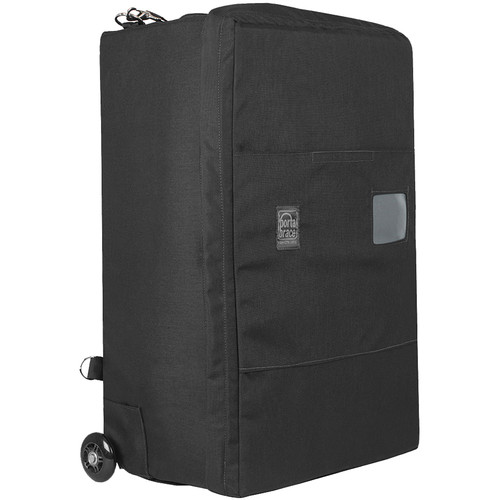 Porta Brace BK-4BOR Backpack Camera Case with Wheels (Black)