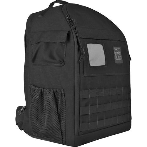 PortaBrace Backpack with Semi-Rigid Frame for Panasonic AG-AC160 (Black)