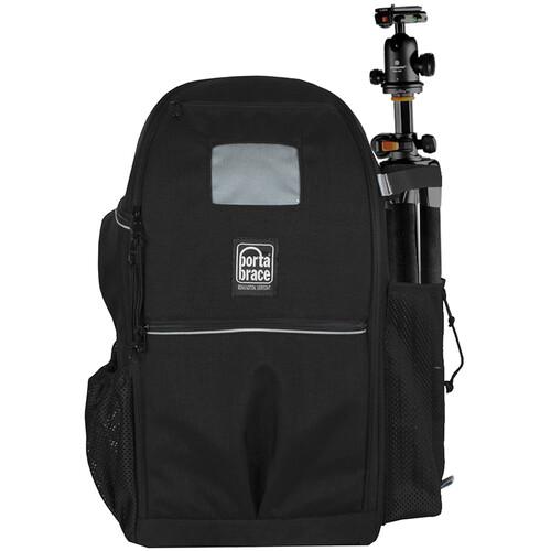 Porta Brace Backpack with Semi-Rigid Frame for Sony Alpha a6400 (Black)