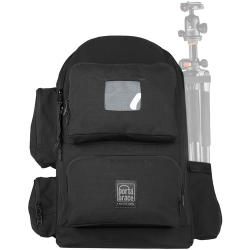 Porta Brace Lightweight Padded Backpack with Semi-Rigid Frame for JVC GY-HC500