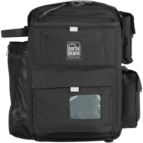 Porta Brace Rigid-Frame Video Camera Backpack (Black)