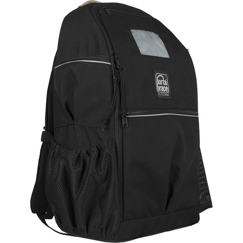 Porta Brace Backpack with Semi-Rigid Frame for Panasonic Lumix S1 (Black)