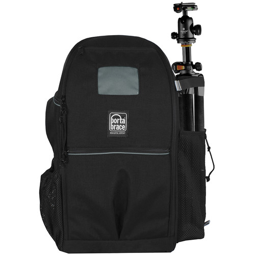 Porta Brace Backpack for Mirrorless Cameras, Lenses & Accessories (Black)