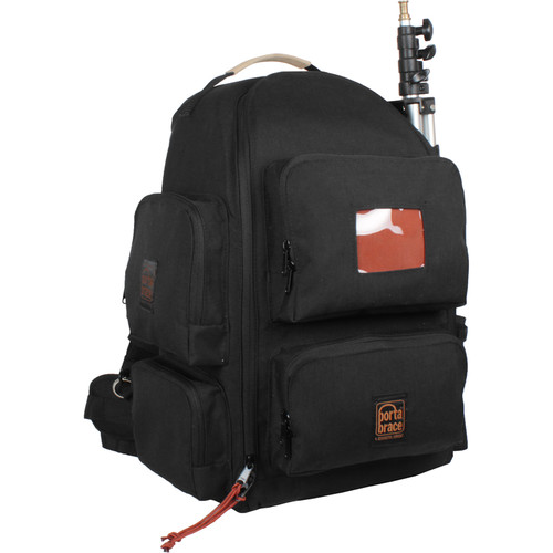 Porta Brace Backpack with Semi-Rigid Frame for Sony NX5R (Black)