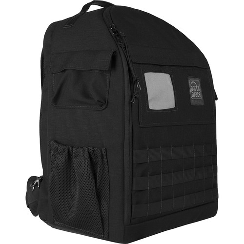 Porta Brace Backpack with Semi-Rigid Frame for Canon XF405 (Black)
