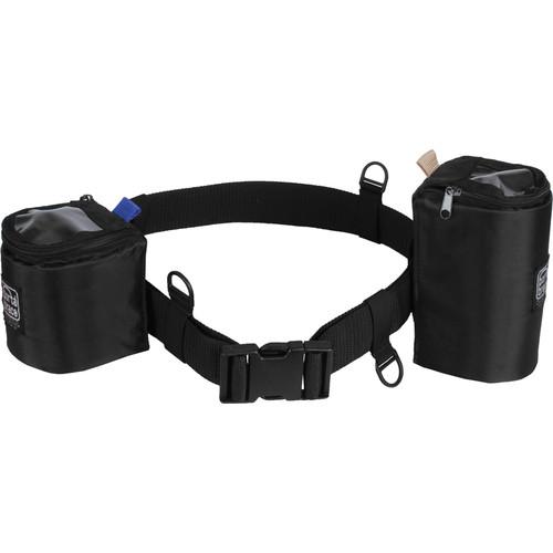 Porta Brace Waist Belt with 2 Lens Cups (Black)