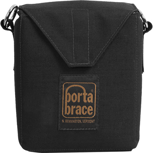 Porta Brace Padded Battery Carrying Pouch (Black)