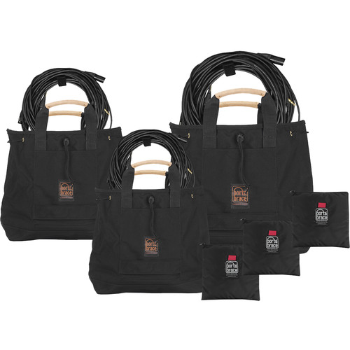 Porta Brace A Set Of 3 Cable Bags, Cable-Bag1, Cable-Bag2, Cable-Bag3