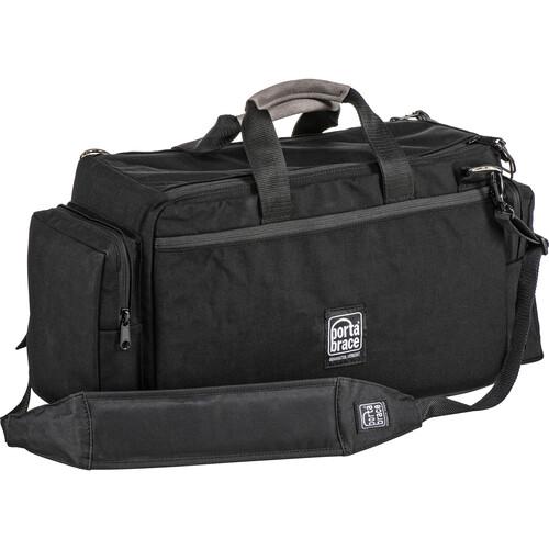 Porta Brace Semi-Rigid Cargo-Style Camera Case (Black with Gray Accents)