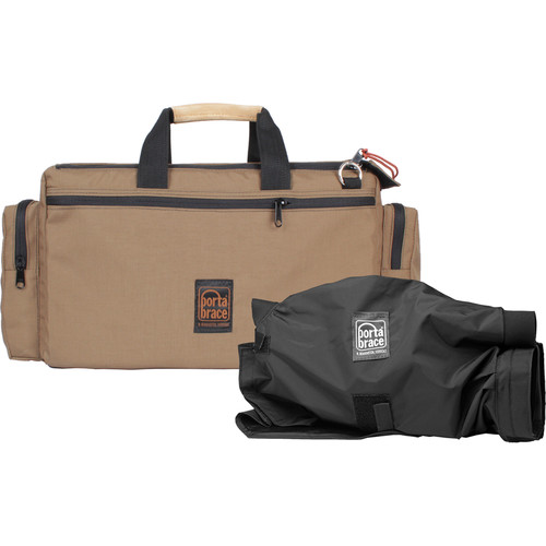 Porta Brace CAR-2CAMQS Cargo Case Camera Edition M3 Quick-Slick Package (Tan)