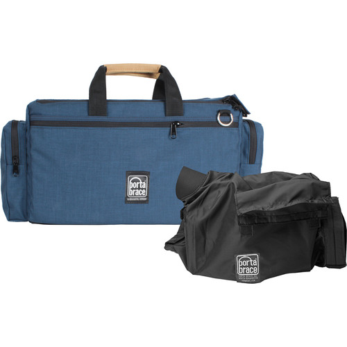 Porta Brace CAR-2CAMQS Cargo Case Camera Edition M4 Quick-Slick Package (Blue)