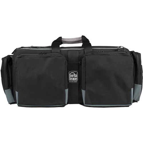 Porta Brace Aluminum Frame Lightweight Camera Case with Two Removable Pockets (Large)