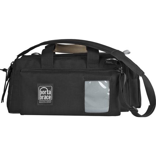 Porta Brace Dual-Zipper Camera Bag for Canon 6D Mark II and Accessories (Black)