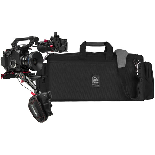 Porta Brace Lightweight Carrying Case for Camera & Zacuto Recoil with Flip & Zgrip
