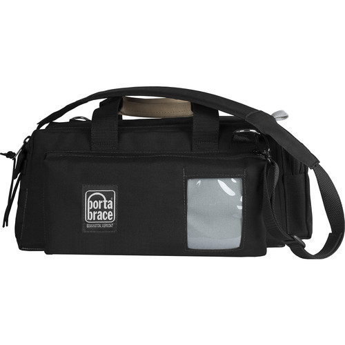 Porta Brace Semi-Rigid Lightweight Cargo Case for Sony HXR-NX80 (Small, Black)