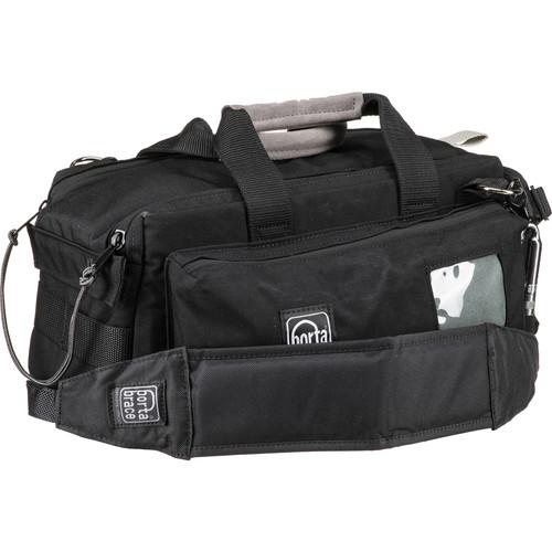 Porta Brace Compact, Dual-Zipper Case for POV Camera and Accessories (Black)