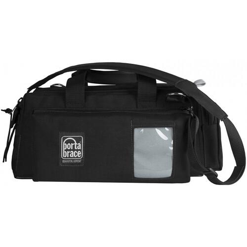 PortaBrace Semi-Rigid Lightweight Cargo Case for Sony PXW-Z90 (Small, Black)