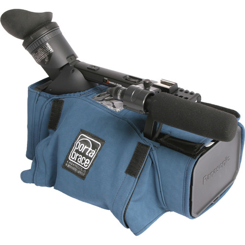 Porta Brace Body Armor for Panasonic AG-HMC150 Camera (Blue)