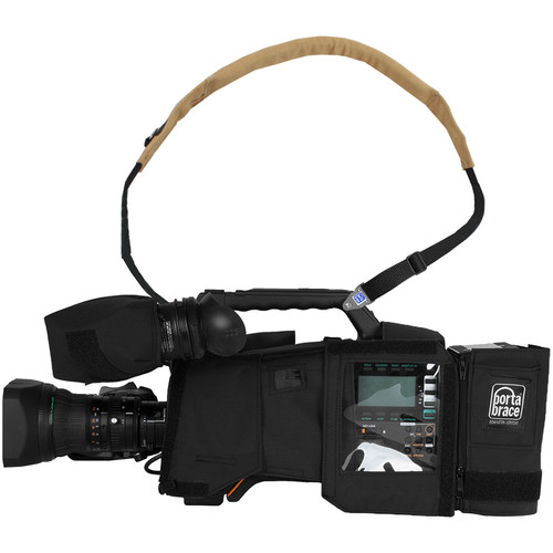 Porta Brace Camera Body Armor for the Panasonic AG-HPX600 Camcorder (Black)