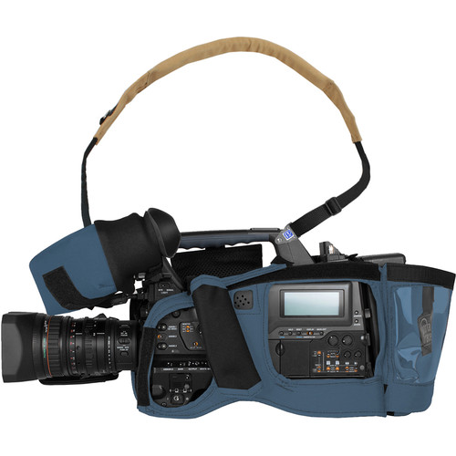 Porta Brace Camera BodyArmor Camera Case for Sony PMW-400 (Blue)