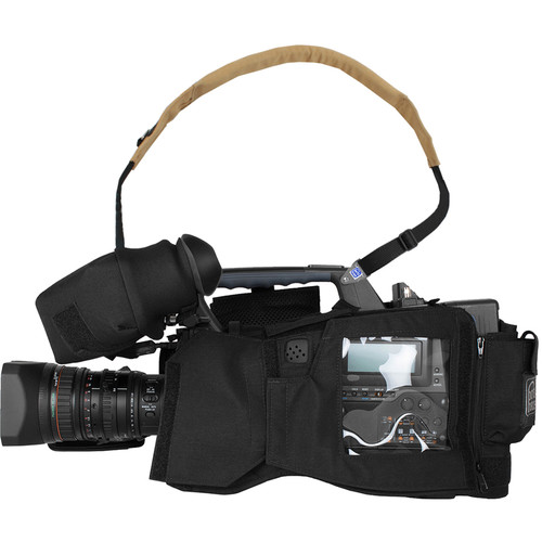 Porta Brace Camera BodyArmor Camera Case for Sony PMW-400 (Black)
