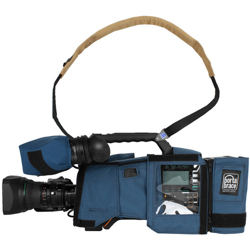 Porta Brace CBA-PX800 Camera BodyArmor for Panasonic AJ-PX800 (Blue)