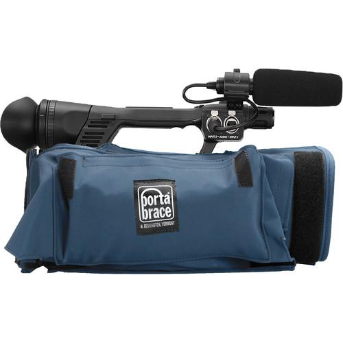 Porta Brace Body Armor for Panasonic AG-UX180 Camera (Blue)