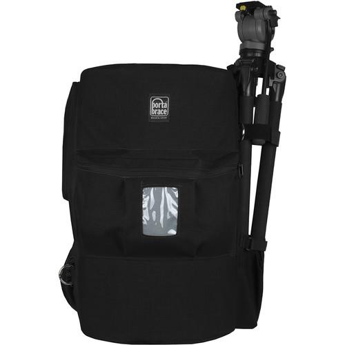 PortaBrace Shoot-Ready Ultra-Light Backpack for Cinema Camera Rig (Black)