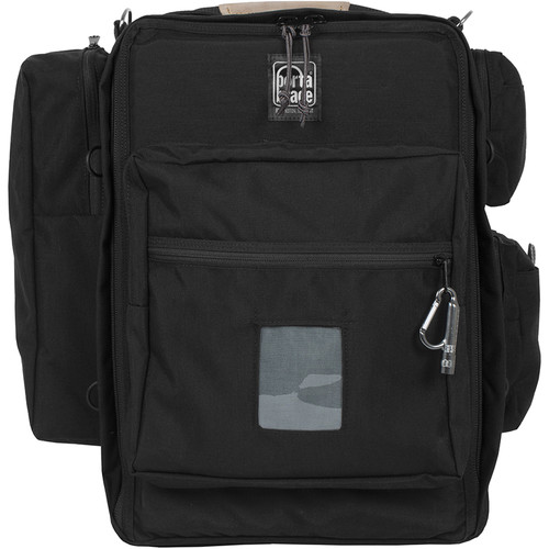 Porta Brace Lightweight Backpack with Off-Road Wheels for Canon C100 Cinema Camera