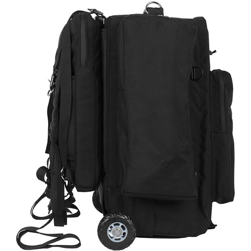 Porta Brace Lightweight, Ursa Mini Cinema Camera Backpack with Off-Road Wheels