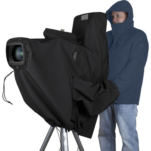 Porta Brace Stadium Rain Cover for Ikegami HC-HD300 Camera, Veiwfinder & Box Lens