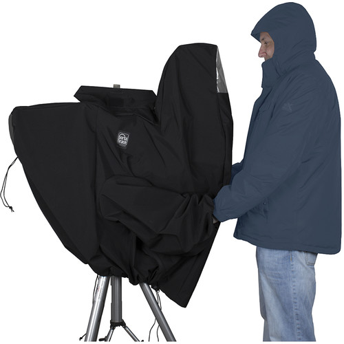 Porta Brace Cloak-Style Stadium Rain Cover for URSA Broadcast Camera Setups