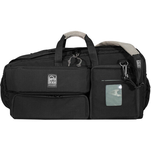Porta Brace Carry-On Camcorder Case with Plastic Viewfinder Guard (Black)