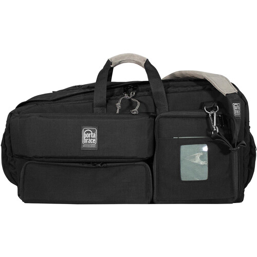 Porta Brace Padded Carry-On Camcorder Case with Reinforced Viewfinder Guard (Black)