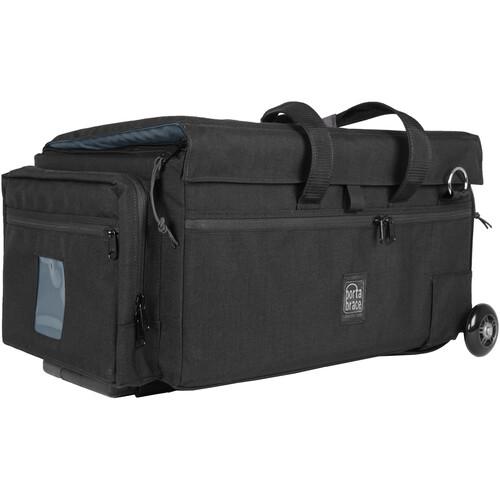 Porta Brace DCO-3ROR Large Rolling Soft Case (Black)