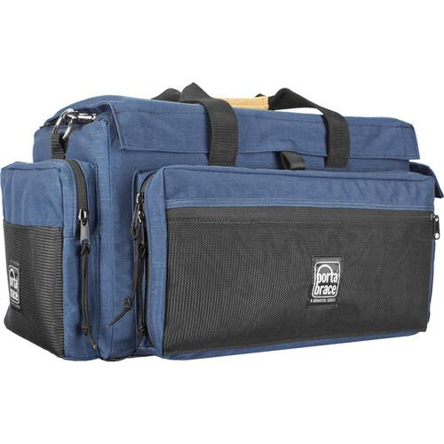 Porta Brace CS-DV2U Camcorder Case and Quick Slick Mini Rain Cover Kit (Blue)