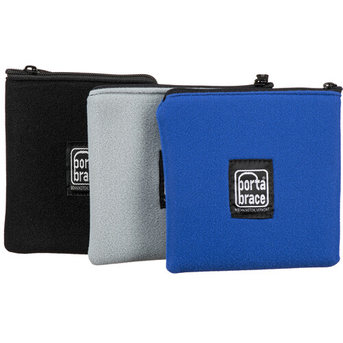 """Porta Brace Filter Pouch Set for up to 3 Circular Filters up to 4.5"""""""