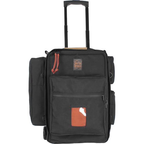 """Porta Brace Wheeled Video Backpack Case for Cameras up to 18"""" Long"""