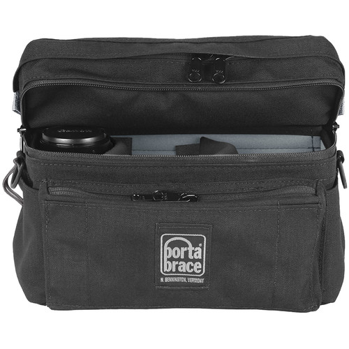 Porta Brace HIP-3LENS Hip-Pack Lens Case (Black)