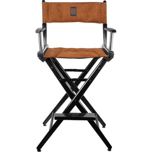 PortaBrace LC-30B Director's Chair (Black Frame with Ultra Suede Seat)