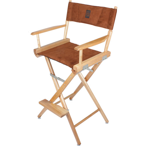 Porta Brace LC-30N/B Director's Chair (Natural Wood Frame with Ultra Suede Seat)