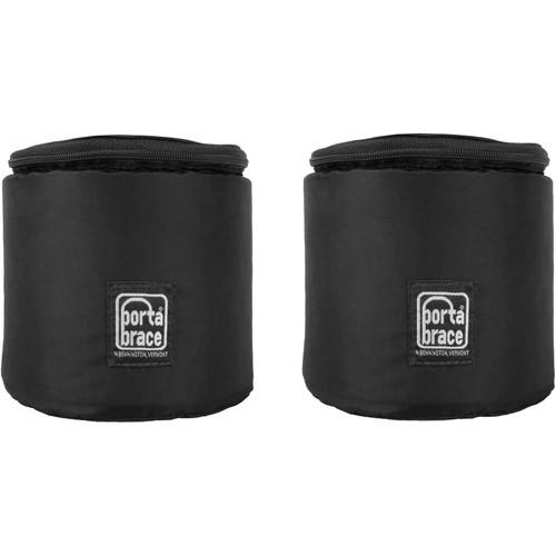 Porta Brace Padded Cinema Lens Cup (Black, 2-Pack)