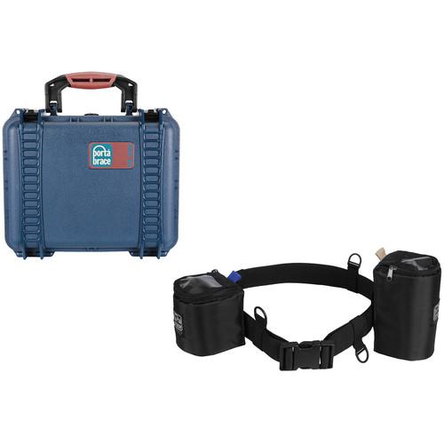 Porta Brace PB-2400E Hard Case and BP-LB47 Lens Belt Set