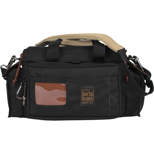 Porta Brace Carrying Case with Rigid Frame for Two Chauvet Par Tri-6 Light Heads